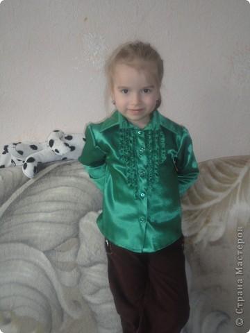 Блузка для дочери