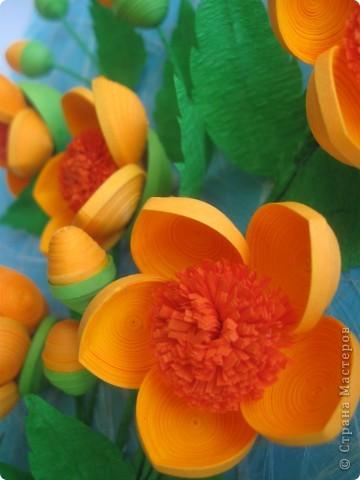 Мои цветочки- это гибрид из всех подобных цветов, увиденных мною в стране Мастеров. Что-то между огоньками, шиповником, пионами ( у Ольги Ольшак, например).Вот, посмотрите: фото 6