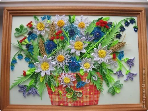 Вот и у меня теперь есть полевые цветы. Огромное спасибо всем мастерицам, кто выставляет свои работы, у вас многому можно поучиться. Отдельное спасибо Ольге Ольшак, Светлане Любимовой, Свет- Лане, Ольге Студниковой. От ваших работ я в восторге, многому у вас учусь. Вот такие цветы получились у меня. фото 6