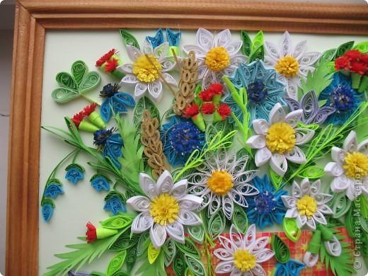 Вот и у меня теперь есть полевые цветы. Огромное спасибо всем мастерицам, кто выставляет свои работы, у вас многому можно поучиться. Отдельное спасибо Ольге Ольшак, Светлане Любимовой, Свет- Лане, Ольге Студниковой. От ваших работ я в восторге, многому у вас учусь. Вот такие цветы получились у меня. фото 7
