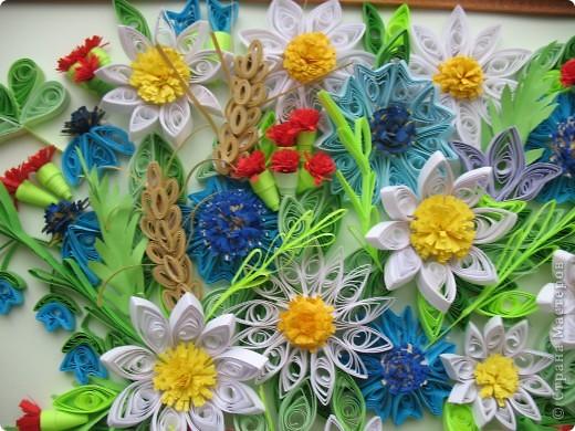 Вот и у меня теперь есть полевые цветы. Огромное спасибо всем мастерицам, кто выставляет свои работы, у вас многому можно поучиться. Отдельное спасибо Ольге Ольшак, Светлане Любимовой, Свет- Лане, Ольге Студниковой. От ваших работ я в восторге, многому у вас учусь. Вот такие цветы получились у меня. фото 8