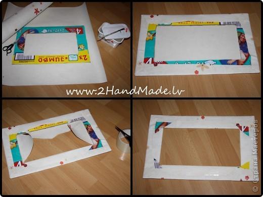 Матрёшка вязанная крючком + рамка  фото 2