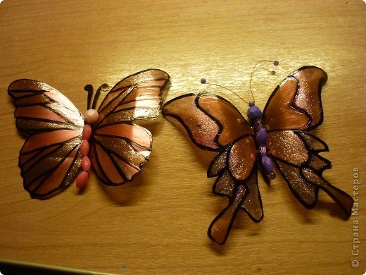 вот такие замечательные, яркие бабочки - магниты:) фото 2