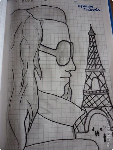 рисунок нарисованный с помощью маркеров:) фото 4