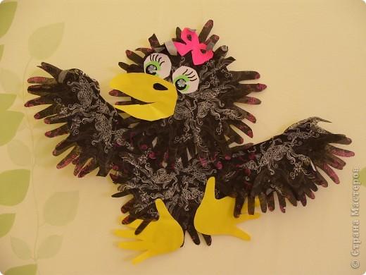 """Готовимся к Празднику птиц. 1 апреля - завершается наш проект """"Птицы... они такие разные"""". Заключительным этапом будет викторина между двумя командами детей старших групп. Дети готовятся серьезно и основательно. С моей помощью каждый смастерил свою птицу и готовит ей презентацию. фото 2"""