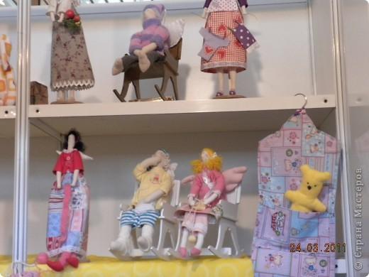 """Вчера я побывала на выставке """"Стильная кукла"""", которая проходит в г. Одессе. Спешу поделиться с вами рукотворной красотой. К сожалению, не могу написать имена мастеров, так как познакомиться с ними не догдалась. Если ещё раз схожу на неё ( очень хотелось бы), то обязательно исправлюсь. Если кто-то узнает свои работы - напишите мне. фото 12"""