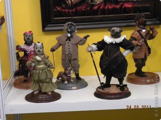 """Вчера я побывала на выставке """"Стильная кукла"""", которая проходит в г. Одессе. Спешу поделиться с вами рукотворной красотой. К сожалению, не могу написать имена мастеров, так как познакомиться с ними не догдалась. Если ещё раз схожу на неё ( очень хотелось бы), то обязательно исправлюсь. Если кто-то узнает свои работы - напишите мне. фото 34"""