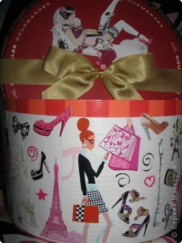 Это была коробочка из-под конфет. Я решила ее украсить. фото 2
