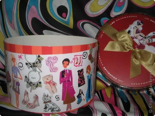 Это была коробочка из-под конфет. Я решила ее украсить. фото 4