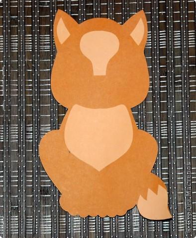 Вам понадобиться:  цв. картон (основа) цв. бумага бархатная бумага (носик) ватные диски (лапки, грудка и челка) ножницы клей-карандаш фото 3