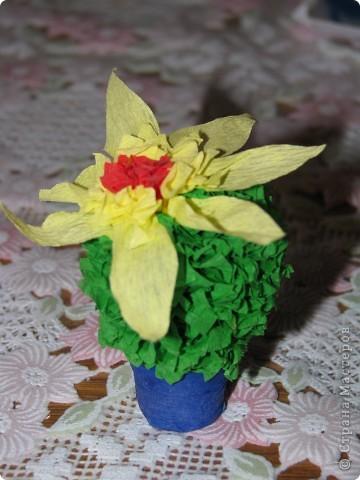 Вот такой кактус получился у моей дочки по МК Татьяны Николаевны http://stranamasterov.ru/node/2743?tid=451 фото 1