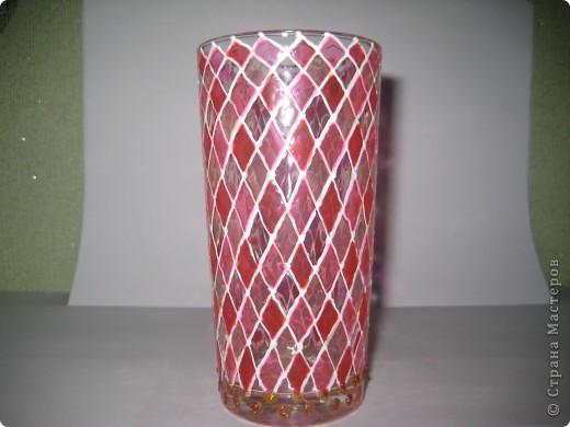 """Для одной сестры - набор стаканов с росписью """"Калейдоскоп""""... фото 4"""
