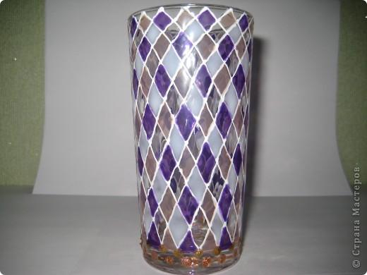 """Для одной сестры - набор стаканов с росписью """"Калейдоскоп""""... фото 5"""