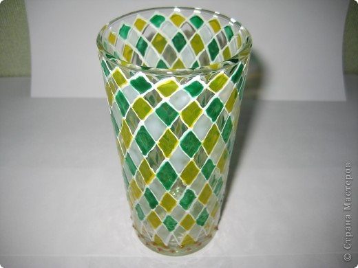 """Для одной сестры - набор стаканов с росписью """"Калейдоскоп""""... фото 8"""
