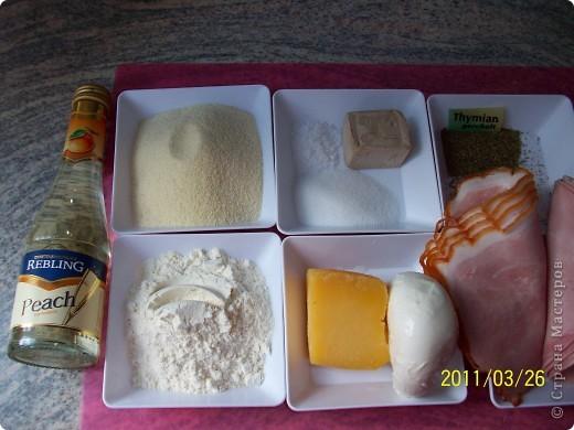 Рулет с сыром и ветчиной. фото 2