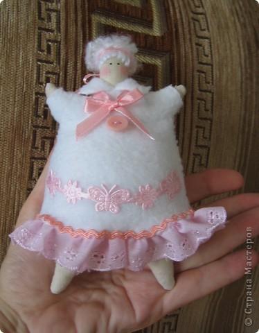 Пирожный ангел. рост 17см. фото 2
