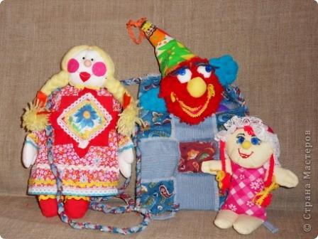 """Наконец нашла своё """"сокровище"""" - образцы прежних кукол из ткани. Мы их шили с таким удовольствием в то время, когда в магазинах не было такого выбора кукол, как сейчас... Тем они были и дороги. Даже ткани было мало, я использовала свои запасы. фото 1"""