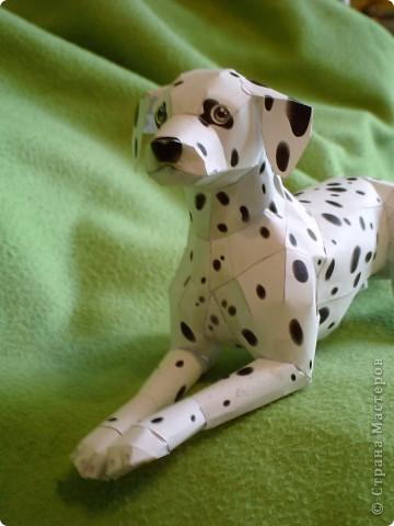 Вот далматин которого я сделала, может чуть не аккуратный но мне понравился!!! Вот сайт где я его подсмотрела http://cp.c-ij.com/en/contents/3156/dalmatian/index.html фото 4