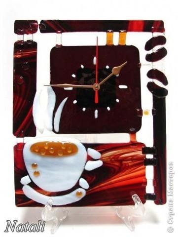 """часы """"Кофе"""""""