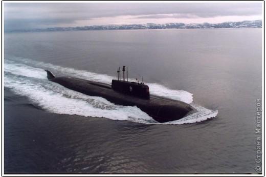 Вот такой не обычный заказ я получила от друга-бывшего подводника. фото 4