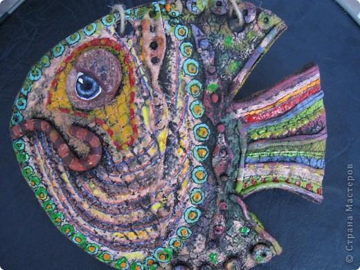 А Рыб получился в гротескном стиле. фото 1