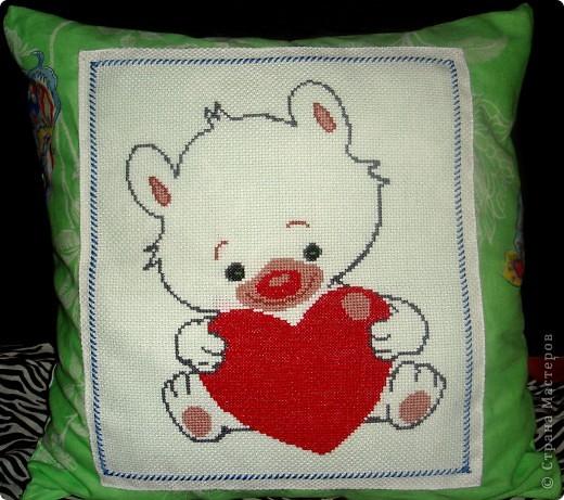 подушка-валентинка