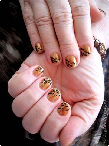 Здравствуйте,милые мастерицы!По просьбам выставляю несколько дизайнов на коротких ногтях.Многие варианты можно выполнять как на длинных,так и на коротеньких ноготочках. фото 1