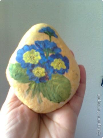 рисунка върху камък- опит преди време фото 3