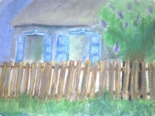 работа сделана из пастели, выполнена за 2 с половиной урока !в дши (1 урок длится 3 часа.) фото 3