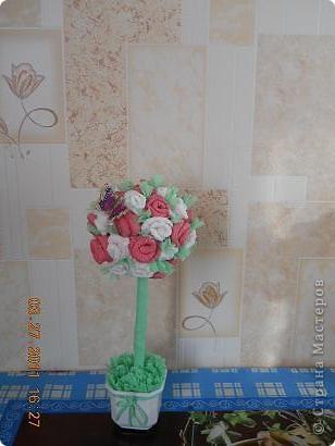 Дерево из роз.........
