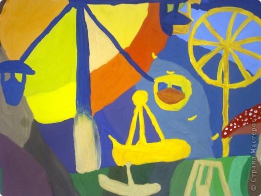 работа сделана из пастели, выполнена за 2 с половиной урока !в дши (1 урок длится 3 часа.) фото 8