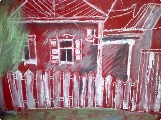 работа сделана из пастели, выполнена за 2 с половиной урока !в дши (1 урок длится 3 часа.) фото 7