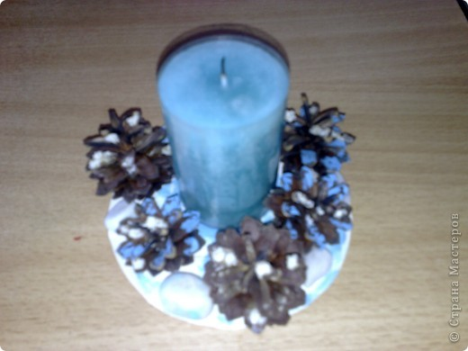 это подсвечник со свечой. фото 1