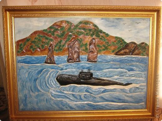 Вот такой не обычный заказ я получила от друга-бывшего подводника. фото 5