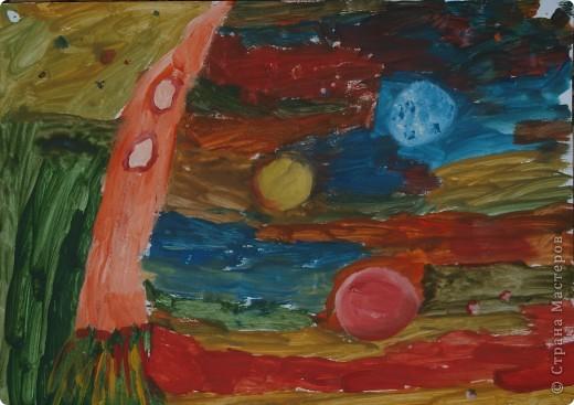Дениска Коровенков, 7 лет выполнил рисунок на стекле. фото 7