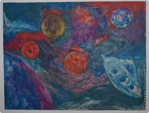 Дениска Коровенков, 7 лет выполнил рисунок на стекле. фото 3