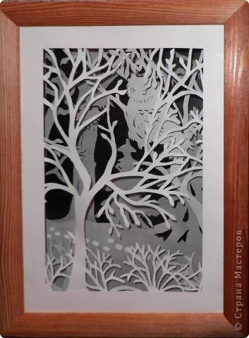 рисунок Бумажный туннель