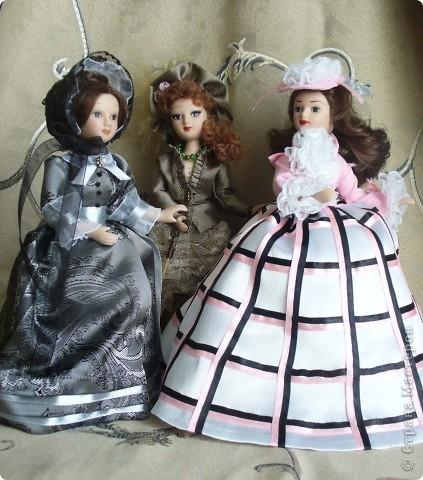 """Увидев по ТВ рекламу журнала с куклами """"Дамы эпохи"""", решила, что обязательно соберу всю коллекцию. Купила первую куклу -  Джейн Эйр. Но, она не была похожа на героиню известного романа. фото 10"""