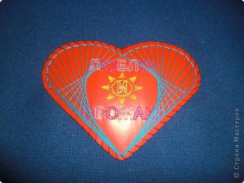 Такую маленькую открыточку я подарила Любимому на День Святого Валентина! фото 5