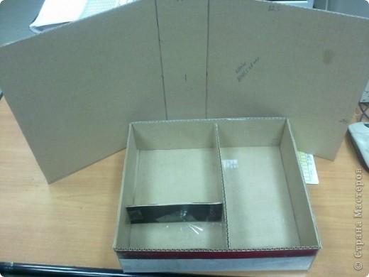 Эту коробочку я делала в подарок знакомой, у которой была проблема с хранением бижутерии. фото 2
