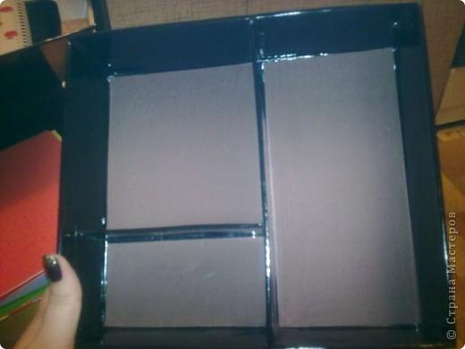 Эту коробочку я делала в подарок знакомой, у которой была проблема с хранением бижутерии. фото 4