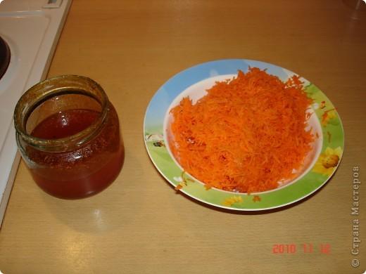 Хочется поделиться рецептом салата. Сладкий, полезный и простой. состав: морковь, варенье облепиховое. И все. фото 2