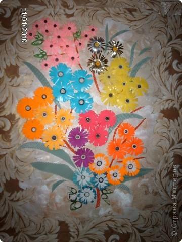 Цветочные фантазии - мои первые работы