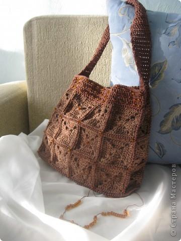 Очень волнуюсь, моя первая сумочка. фото 1