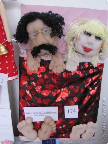 У нас в Запорожье ко Дню Кукольника,прошла выставка кукол.Выставлялись запорожские мастера кукол первый раз,но был полный аншлаг!Заранее прошу прощения,что не всех мастеров назову и не о всех техниках смогу рассказать...Но не могу удержаться,зная,что многим мастерам будет интересно. фото 19