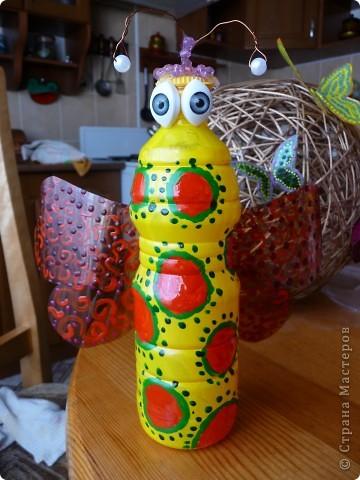 Фигурки в сад)))Пчелы,бабочки,шары фото 4