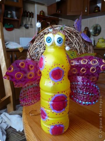 Фигурки в сад)))Пчелы,бабочки,шары фото 5