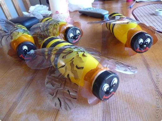 Фигурки в сад)))Пчелы,бабочки,шары фото 1