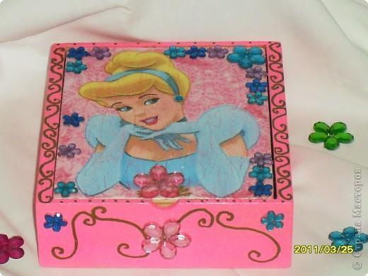 шкатулочка для дочери  фото 2