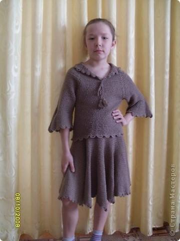 Моя первая работа- костюм для дочки.